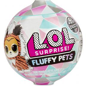 Lol Surprise Fluffy Pets Winter Disco LLU86000