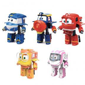 Robot Trains - Personaggi Trasformabili 13CM 80191