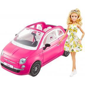 Barbie - Fiat 500 con bambola GXR57