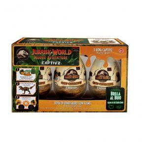 Jurassic World Captivz Slime Egg 3 Pack