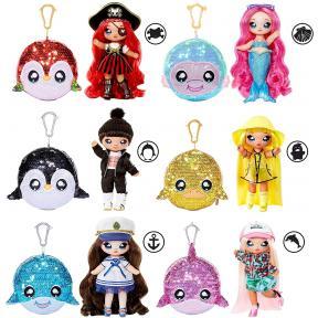 Na Na Na Surprise 2-in-1 Bambola alla Moda e Borsetta di Peluche 572350EUC